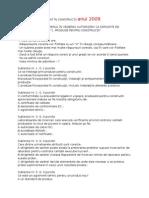 Subiecte Examen Diriginte De Santier 2017